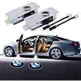 BMW Door Projector Lights Car Door Lighting Logo 2 Pcs LED Entry Ghost Shadow Laser Projector Welcome Lights Easy Installation for BMW 3/5/6/7/Z/GT/X/Mini Series
