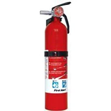 First Alert FE10GO Garage/Workshop Fire Extinguisher, Red