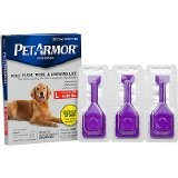 PETARMOR Petarmor Topical Flea & Tick Treatment For Dogs & Puppies, For Dogs 45-88 lbs. EA (Pack of 9)