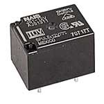 Electromechanical Relay Single Pole, Double Throw 5 Amps DC/10 Amps AC 12 Volt 400Ohm Through Hole