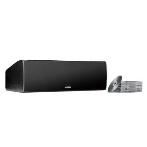 Polk Audio CSI A6 Center Channel Speaker (Single, Black) by Polk Audio