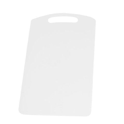 Plastic Thin PP Flexible Cutting Mat Chopping Board White DealMux DLM-B00E6PY8D0