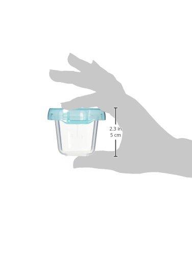 OXO Tot Baby Blocks Freezer Storage Containers, Aqua, 2
