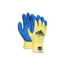 Cut Gloves, L, Yellow/Blue, Kevlar(R), PR by Memphis Glove