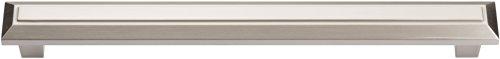 Atlas Homewares 285-BRN Trocadero Mega Pull, 8.5-Inch, Brushed Nickel