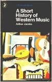 Book A Short History of Western Music (Pelican)
