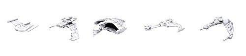 Wizkids Attack Wing Deep Cuts Unpainted Miniatures - Bundle II Romulan,Reman,Klingon Ships (Ship Romulan)