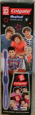 Colgate Maxfresh Limited Edition 1D 1 Direction Manual Toothbrush and Toothpaste Set