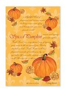 Fresh Scents Scented Sachets - Spiced Pumpkin, Lot of 6 by Freshscent