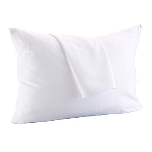 Big Save! ALLERelief 100% Microfiber Zippered Pillow Protectors. Allergy Control, Hypoallergenic Dus...