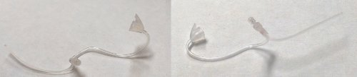 Phonak Hearing Aid Micro Tubes (Size 2B-Right and Left) SNAP-ON TYPE by Phonak