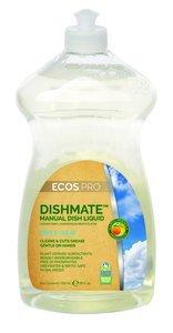 Dishmate Dishwashing - 25oz Bottle Free & Clear ECOS PRO™ Dishmate™ Dishwashing Soap, Pack of 10