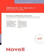 Novell`s Zenworks for Servers 3 Administrator`s Handbook [PB,2003] by Qu Pub2003