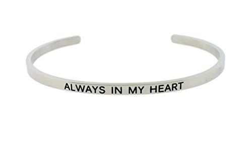 Mantra Bangle Cuff Bracelet...