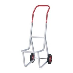 amazon com stacked chair dolly gray red paint home improvement
