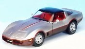 1982 Corvette in Dark Claret and Silver Limited Edition of 1000 Pieces