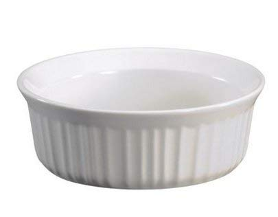 (Corning Ware French White Round Casserole / No Lid ( 24 Oz / 1 1/2 Pint ) ( F-24-B ))