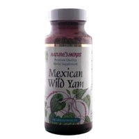 Mexican Wild Yam Root (Twinlab Nature's Herbs Mexican Wild Yam, 100-Capsules (Pack of 4))