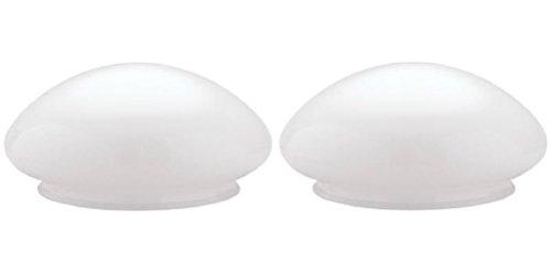 (Westinghouse 85613 Pack of 2 Mushroom Ceiling Shades)