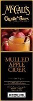 McCall's Country Candles Candle Bar 5.5 oz. - Mulled Apple (Cider Bar)