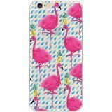 one direction clear iphone 6 case - iPhone 6 Case, DECO FAIRY® Protective Case Bumper[Scratch-Resistant] [Perfect Fit] Ultra Slim Translucent Silicone Clear Case Gel Cover for Apple iPhone 6 (blue dot flamingo pineapple)