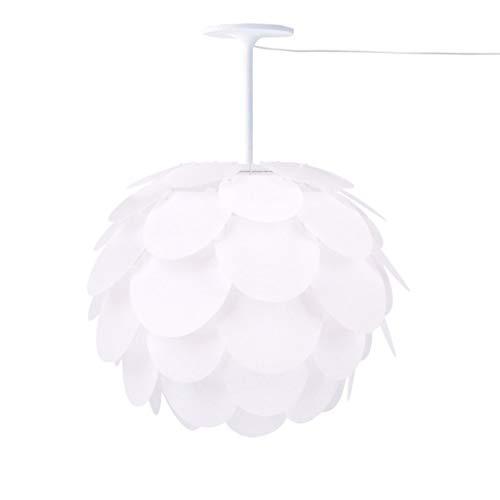 - Chandelier Pendant Ceiling Light Lamp Pendant Light DIY Artichoke Pinecone Shape Puzzle Lampshade