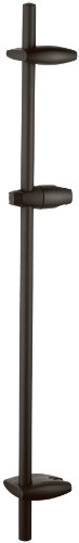 Grohe Movario Oil - Grohe 28 398 ZB0 36-Inch Shower Bar, Oil Rubbed Bronze