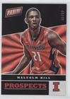 Malcolm Hill #44/49 (Trading Card) 2017 Panini National Convention - Prospects - Rainbow Spokes #9