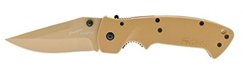 Columbia-River-Knife-Tool-Crawford-Kasper-Desert-Tan-Coated-Folding-Knife