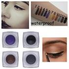 eye liner stilla - LtrottedJ IMAGIC Makeup Waterproof Eyeliner Gel Cream, Eyes Cosmetic Color Eye Liner (E)