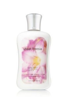 Bath and Body Works Freesia pure lotion pour le corps 8 Fl Oz Silver Cap