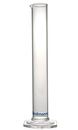 Alcohol Hydrometer Glass Test Jar: Measuring Cylinder Beaker Lab Tube for Home Brew Supplies. Triple Scale Tester Proofing Meter Equipment. Beer/Wine Making/Spirits/Whisky/Moonshine/High Proof Spirit
