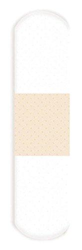 Derma Sciences 1475033 Nutramax Clear Strip Adhesive Bandage, 3/4'' Width, 3'' Length (Pack of 1200)