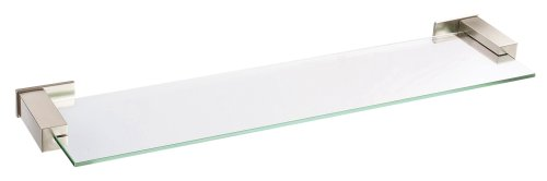 Danze D446135BN Sirius Glass Shelf, 24-Inch, Brushed Nickel
