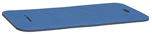 Sportime High Density Cross Linked Polyethylene Mat for Flat Exercise, Blue, 4' L x 2' W (Set of 6)