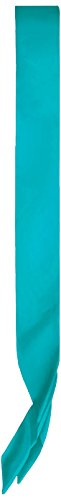 Beistle 60199-T Satin Sash, 33 by 4-Inch, Turquoise