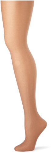 Danskin Women's Shimmery Footed Tight - D - Classic Light Toast]()