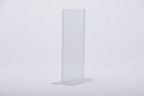 Holder By Kala Concepts, Durable & Sturdy Construction, 5x7 Inches Display Area, Thick Top Grade Acrylic Material, Easy Change Of Inserts, Ultra Clear Wipe Clean Holder, 6 Pack ()