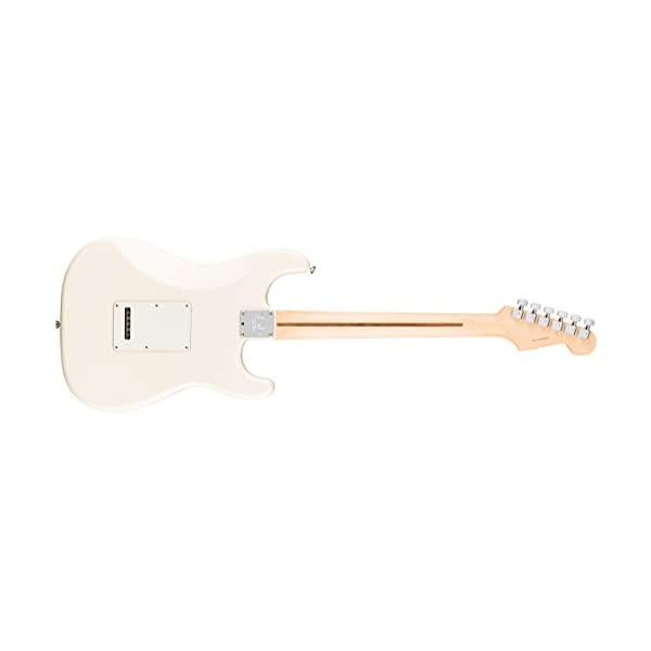 American Professional Stratocaster Lefthand RW Olympic White
