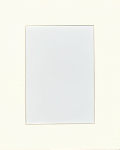 16x20 Pre-cut Acid-free light cream mat, fits 11x1...