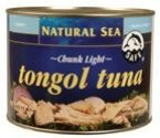 Natural Sea Chunk Light Tongol Tuna - without Salt, 66.5 Ounce -- 6 per case.