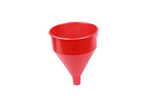 - WirthCo 32006 Funnel King Red Safety Funnel with Screen - 6 Quart Capacity
