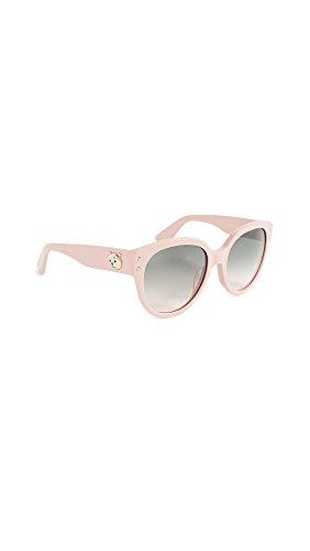 Moschino Women's Bear Logo Sunglasses, Pink/Green Pink, One - Company Logo Sunglasses