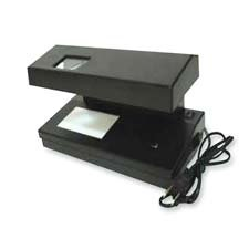 Royal Sovereign Int'l Inc : Counterfeit Detector, Compact/Portable, 11''x6''x6'', Black -:- Sold as 1 EA