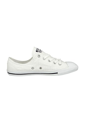 Zapatillas Converse All Star Dainty Ox (White/Black) White Black White