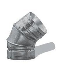 Duravent 4GVL90 4-Inch Adjustable 90 Degree Type B Gas Vent Elbow ()