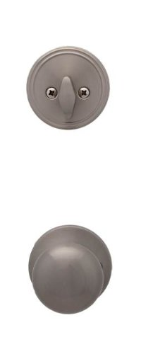 Nickel Watson Single (MaxGrade 850WAT15 Watson Knob Interior Trim for Handleset, Satin)