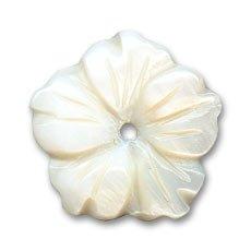 Flor de N/ácar 23 mm Natural x1