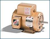 Baldor EL1307 Premium Efficient AC Motor, Single Phase, 5...