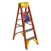 Werner 6205 300-Pound Duty Rating Type IA Fiberglass Stepladder, 5-Foot by Werner